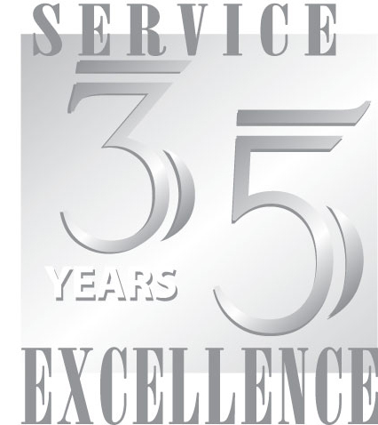 Celebrating thirty five years of service