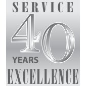 Celebrating forty years of service